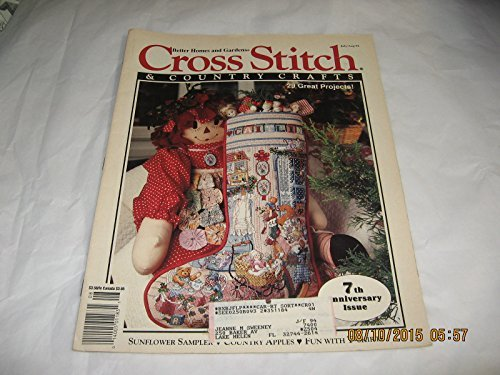 Better Homes And Gardens Cross Stitch & Country Crafts Magazine July/August 1992 (Gardens Better And Cross Homes Stitch)