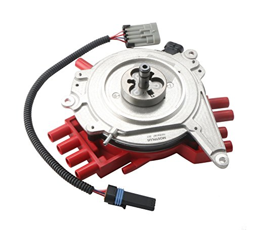 Distributor Vacuum Unit (MOSTPLUS New Ignition Distributor & Harness for Optispark LT1 Chevy Camaro Caprice Corvette)