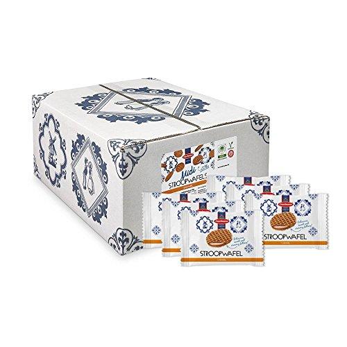 Daelmans Midi Stroopwafel | Caramel Stroopwaffle | Caramel Wafer - 15 g x 150 in a Box
