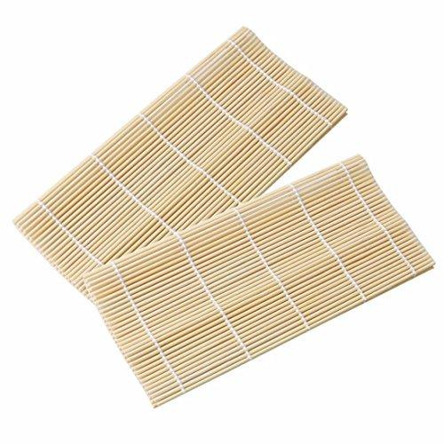 Bamboo Sushi Rolling Mat (2Pcs Mats)