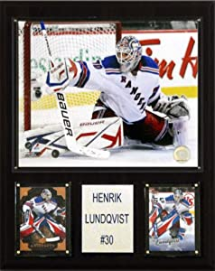 NHL Henrik Lundqvist New York Rangers Player Plaque