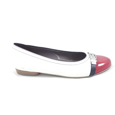 Jenny Pisa 22 63374 bianca, rosso and and rosso Navy Ballerina scarpe       212ce8