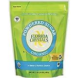 Florida Crystals Organic Powdered Sugar, 16 Ounce (Pack of 6)