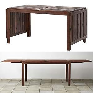 applaro drop leaf table brown kitchen dining room furniture. Black Bedroom Furniture Sets. Home Design Ideas