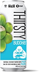 Thirsty Buddha All Natural Coconut Water, Pulp, 5.7kg (12/490ml)