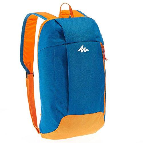 LWJgsa Luz Al Aire Libre Mochila Bolsa De Viaje Hombres Y Mujeres De Ocio Mochila Orange Blue ORANGE BLUE