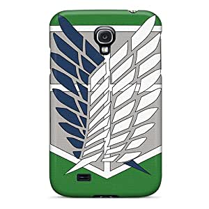Awesome HbNQYSz518XiaTl DonnaLConner Defender Tpu Hard Case Cover For Galaxy S4- Wings Of Freedom Logo