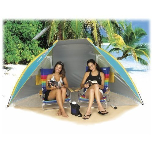 Beach Hut Cabana Tent Shade SPF 50 Portable Carry Bag Sun Protection - Beach By The Hut