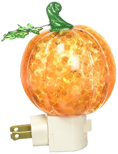 Roman Pumpkin Plug in Night Light with...