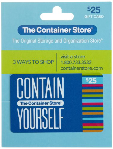 The Container Store Gift Card  25