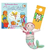 Maison Chic Coral the Mermaid Tooth Fairy Pillow and the Berenstain Bears and the Tooth Fairy Book