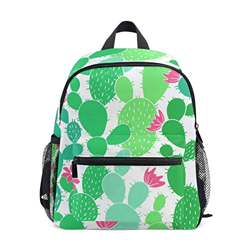 - imobaby Light Green Cactuses Unisex Outdoor Daypacks Bags 2th 3th 4th Grade School Backpack for Kids Boys Girls