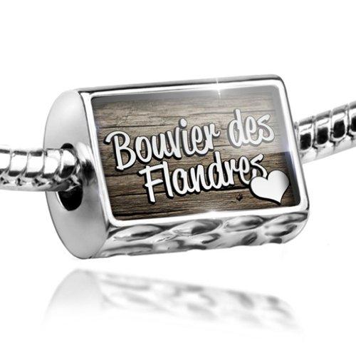 Charm Bouvier des Flandres, Dog Breed Belgium - Bead Fit All European Bracelets ()
