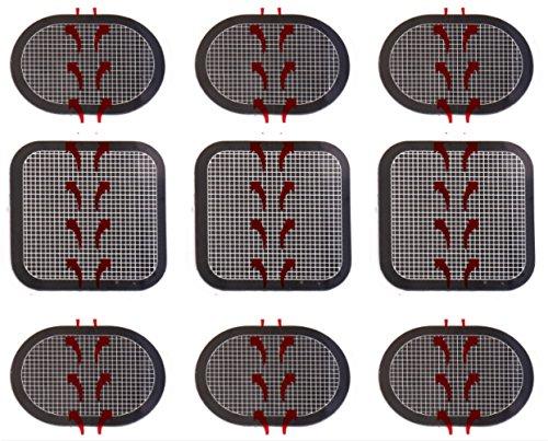 gel pads for flex belt - 2