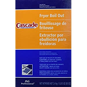 Cascade with Phosphates Professional Fryer Boil Out 85-oz (1)