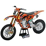 NewRay 1:10 Scale Dirtbike Red Bull KTM 450SX-F 2014 Orange 1:10