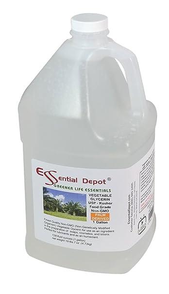 amazon com glycerin vegetable 1 gallon 10 75 lbs or 172oz net wt