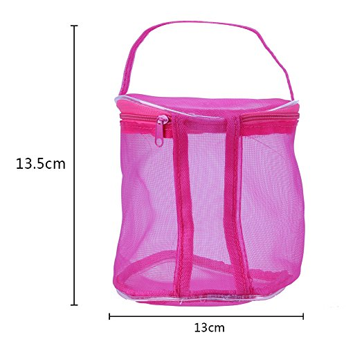 Widewing Tools S Weaving Hollow Bag Red Thread Storage Hand DIY Bag New Mesh rq0w7r
