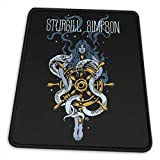 Sturgill Simpson Mouse Pad Rock Cool Cute Custom for Home and Office Non-Slip Thick Gaming Mousepad 10 X 12 Inch