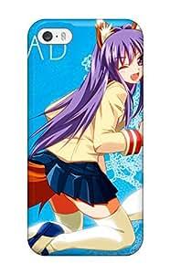 Cute Appearance Cover/tpu IAhuuka355hNiHF Clannad Case For Iphone 5/5s