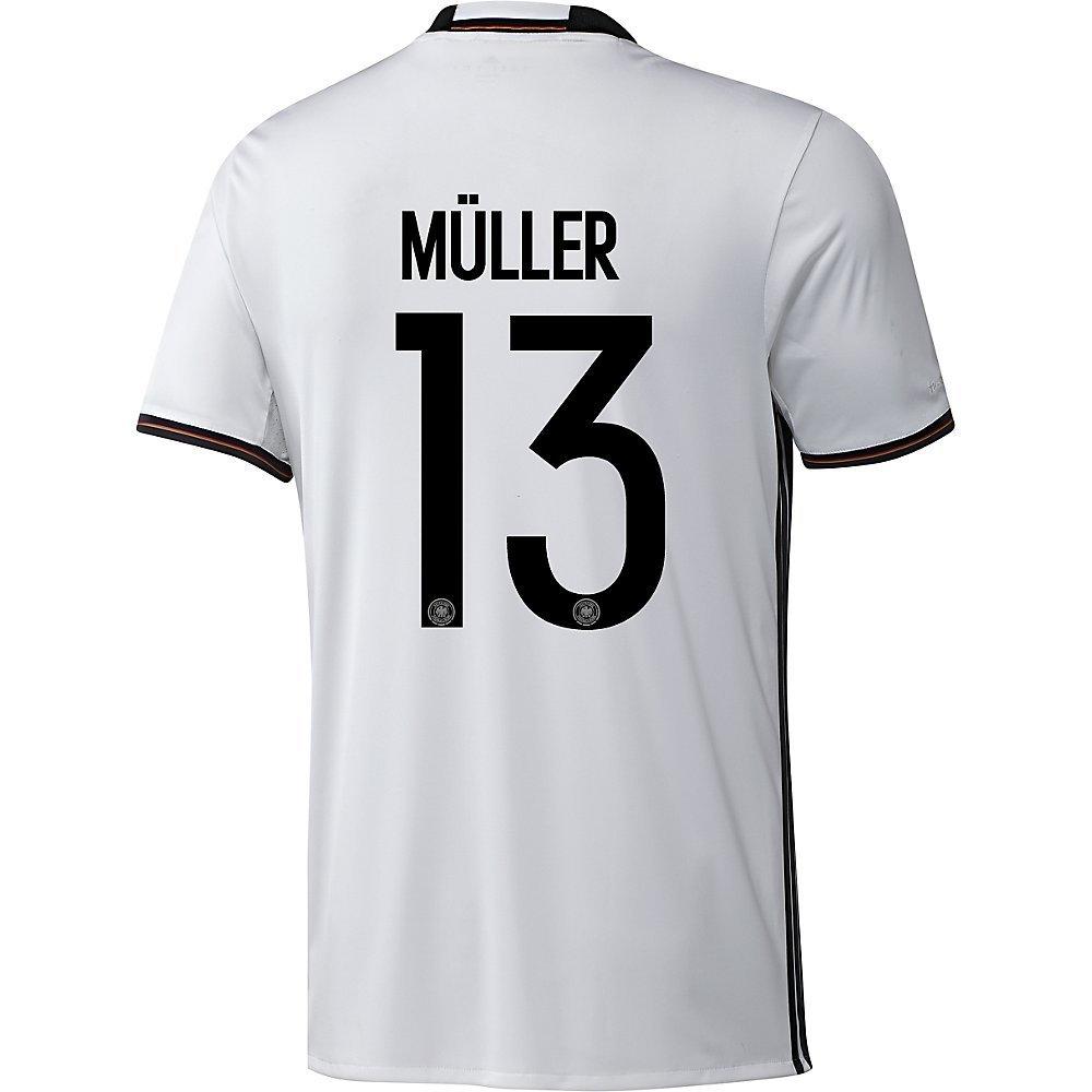 Adidas DFB DEUTSCHLAND Trikot Home Kinder EURO 2016 - MÜLLER 13