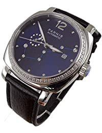 WhatsWatch Parnis 39MM Women's Watch Big Dipper Royal Blue Dial Miyota Automatic Movement for Female -554
