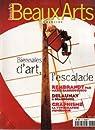 Beaux Arts 181: Biennales d'art, l'escalade; Rembrandt par MArie Darieussecq; Delaunay à Beaubourg; Graphisme: la typologie numérique par Beaux Arts Magazine