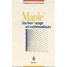 Maple: Son bon usage en mathématiques
