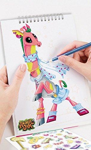Image of: Fox Amazoncom Animal Jam Kids Drawing Art Craft Kit Set Of Two Toys Games Amazoncom Amazoncom Animal Jam Kids Drawing Art Craft Kit Set Of Two Toys