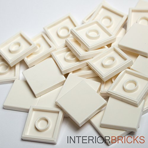 Lego Tile - LEGO Bulk Parts: 2 x 2 Tile - White (PACK of 25)