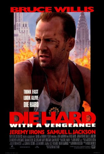 Phillips Iron Print (27 x 40 Die Hard: With a Vengeance Movie Poster)