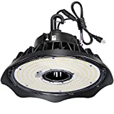 150W UFO LED High Bay Light Fixture, 19500lm