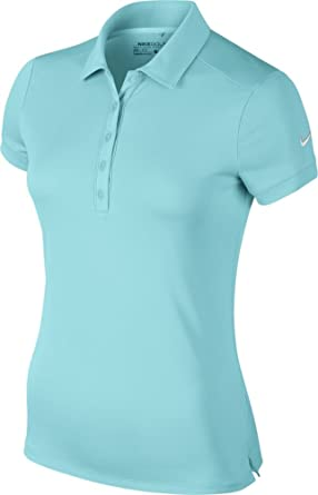 Nike Women's Victory Solid Polo-X-Large-Copa