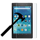 2017 New Amazon Fire HD 10 Screen Protector, EpicGadget For 7th Generation 2017 Fire HD 10 Ultra HD Clear Anti Bubble Anti Scratch 9H Hardness Tempered Glass Screen Protector