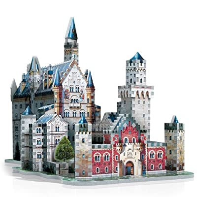 Wrebbit 3d Neuschwanstein Castle 3d Puzzle By Wrebbit 3d
