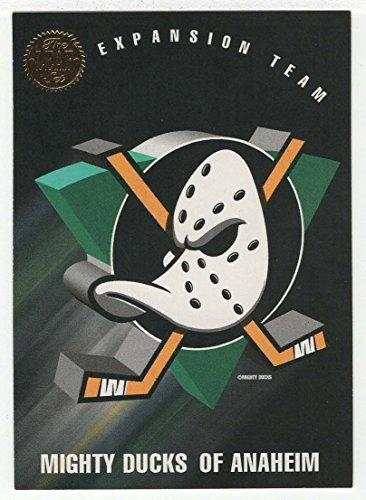 Leaves Expansion (Anaheim Mighty Ducks Expansion Team Card (Hockey Card) 1993-94 Leaf # 200 NM/MT)