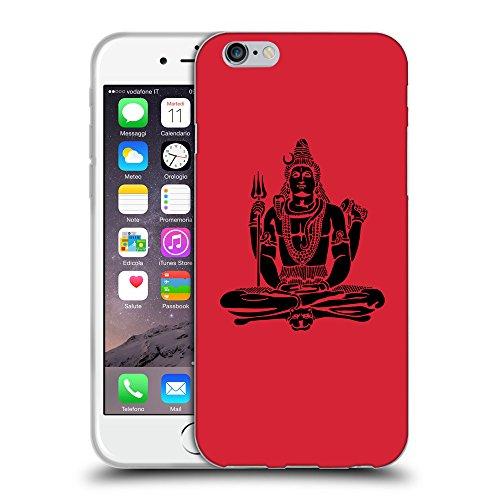 "GoGoMobile Coque de Protection TPU Silicone Case pour // Q08100601 Hindou 1 Alizarine // Apple iPhone 6 4.7"""