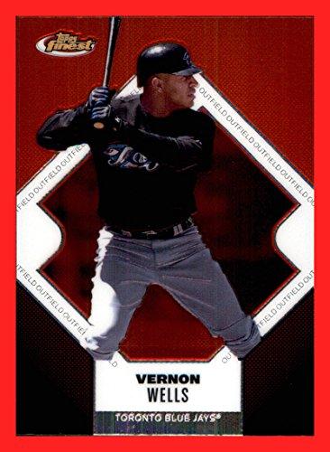 Toronto Blue Jays Vernon Wells - 2006 Finest #37 Vernon Wells TORONTO BLUE JAYS