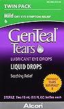 GenTeal Tears Lubricant Eye Drops, Mild Liquid Drops, Twin Pack, 15-mL
