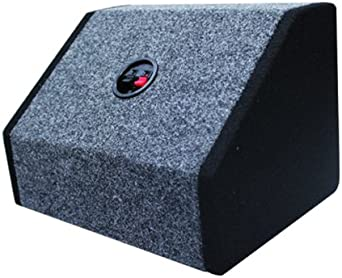 Absolute USA 6X9PKBG 6 X 9 Inches Angled//Wedge Box Speakers Black//Grey Set of Two