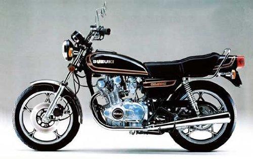 1 12 Suzuki GS400E II (Model Car) Aoshima Naked Bike No.60
