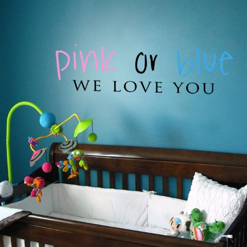 Pop DecorsPink//Blue Wall Stickers