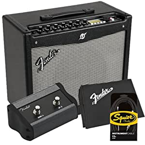 fender mustang iii v 2 guitar amp pak w 1 button footswitch cable musical. Black Bedroom Furniture Sets. Home Design Ideas