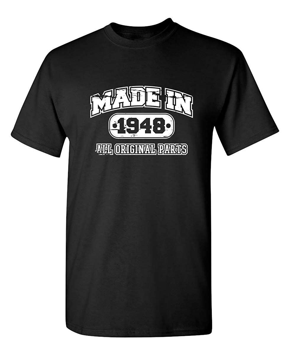 71st Birthday Gag Gift Made In Sarcastic Funny Shirts