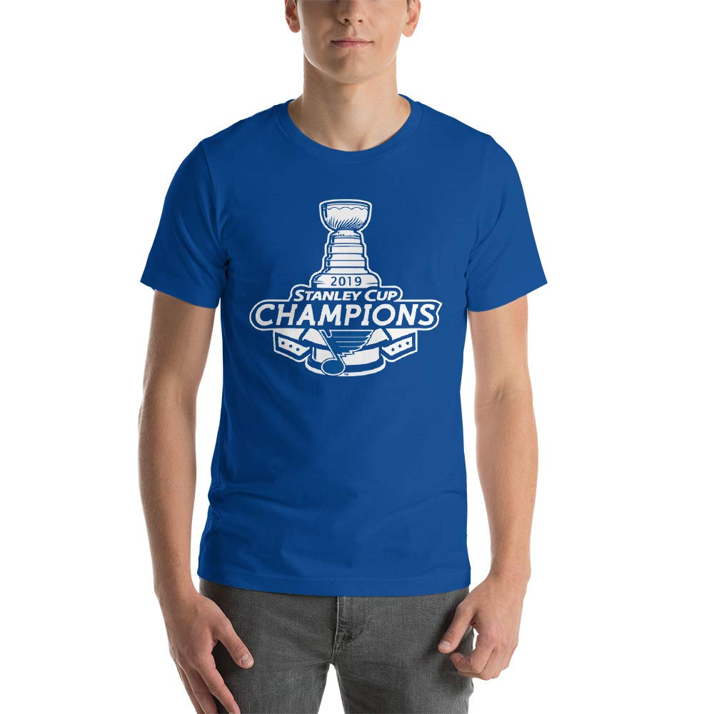 St Blues Stanley Cup Champions T Shirt For Hockey Fans