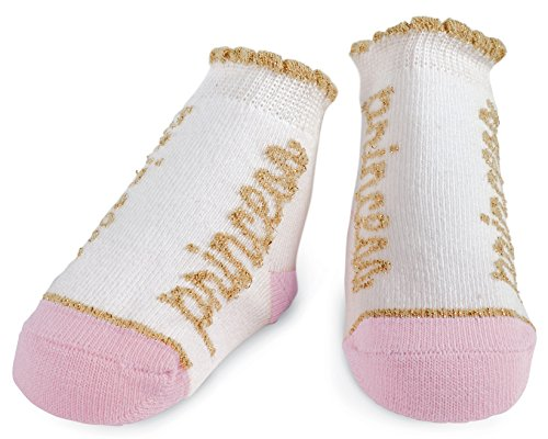 Mud Pie Baby Girls' Sock Set, Princess Gold, 0-12 Months