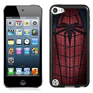 Fashionable Custom Designed iPod Touch 5 Phone Case With The Amazing Spider-Man 2 2014_Black Phone Case