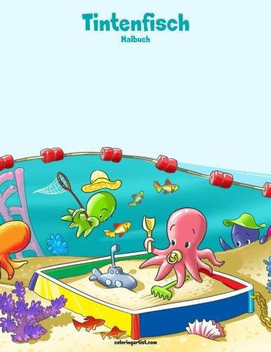 Read Online Tintenfisch-Malbuch 1 (Volume 1) (German Edition) PDF