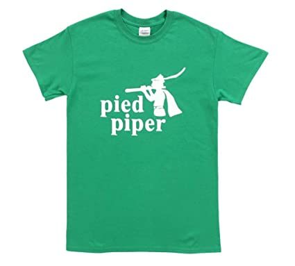 Amazon.com: Silicon Valley Pied Piper Adult Green T-Shirt: Clothing