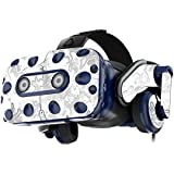 MightySkins Skin Compatible with HTC Vive Pro VR Headset - Viper Snow   Protective, Durable, and Unique Vinyl Decal wrap Cover   Easy to Apply, Remove, and Change Styles   Made in The USA